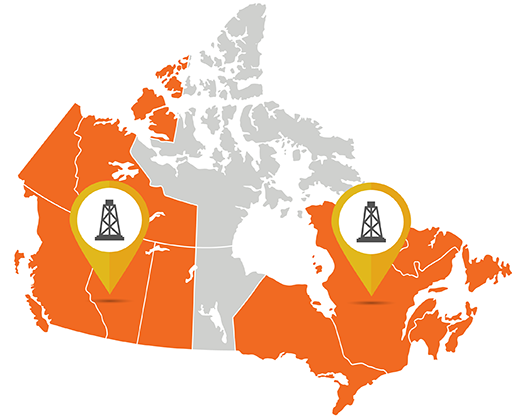 Natural Gas What Is It Where Is It And How Do We Capture It - Where is canada