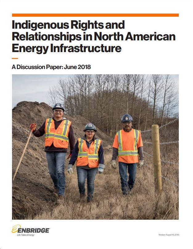 Indigenous Rights In North American Energy Infrastructure Report