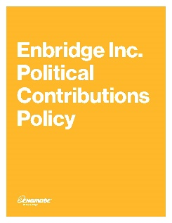 Political Contributions Policy