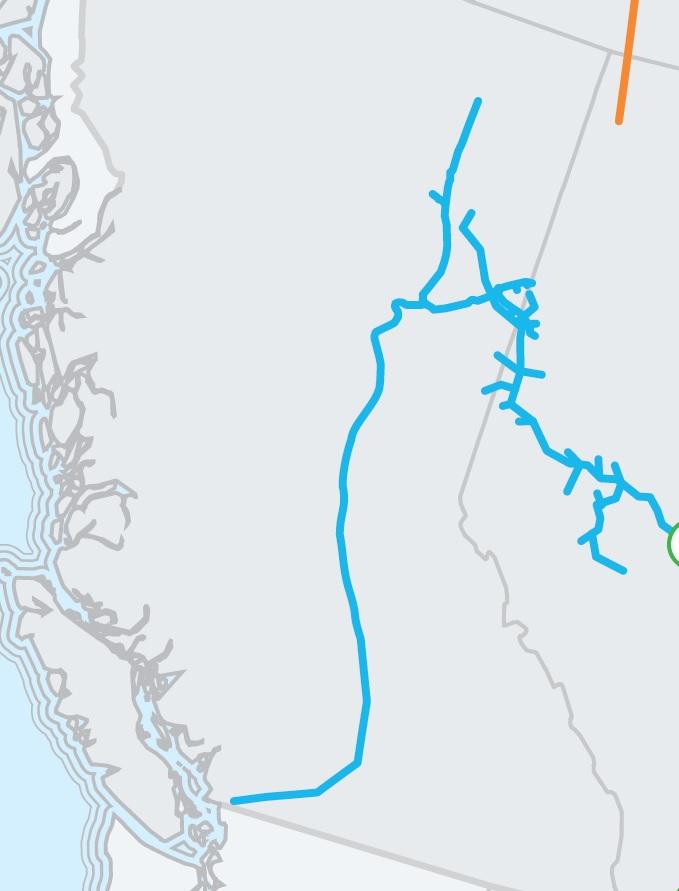 Map - Enbridge Inc.
