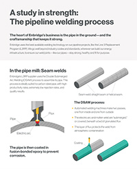 Pipeline welding inforgraphic