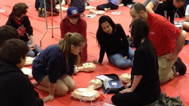 Heart and Stroke AED CPR