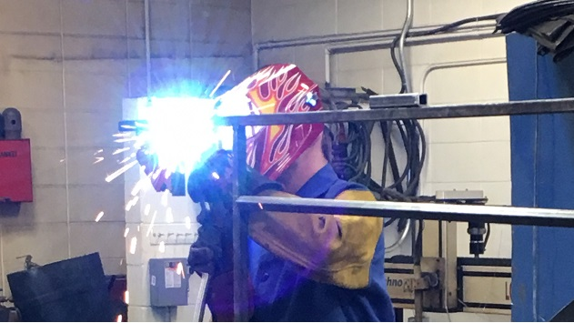 North Dakota welding program