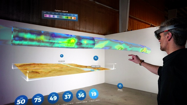 Virtual Reality Project Goes Underground For Pipeline